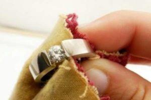 почистить позолоченное серебро в домашних условиях