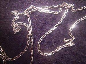 запаять серебряную цепочку