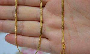Как и чем можно почистить золотую цепочку в домашних условиях