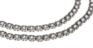 Как правильно почистить моющим средством серебряную цепочку