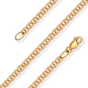 Особенности плетения золотых украшений «Бисмарк»