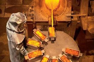 При какой температуре возможно плавление золота